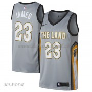 Basketball Trikot Kinder Cleveland Cavaliers 2018 LeBron James 23# City Swingman..